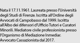 Avv. Giuseppina Maria Lucia Barbiero